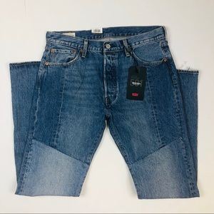 Levi's 501 premium original patch button fly 34